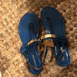 Like new Caterine Coach sandal